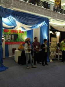 booth kami di IKAPPESTY EXPO 2017